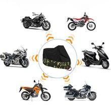 Capa da motocicleta à prova dwaterproof água ao ar livre m l xl xxl xxxxl caso de moto funda moto proteção uv chuva pit bike cobre 190t