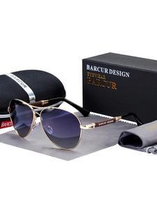 TR90 Sunglasses Pilot Uv400-Mirror Oculos-De-Sol Polarized BARCUR High-Quality Women