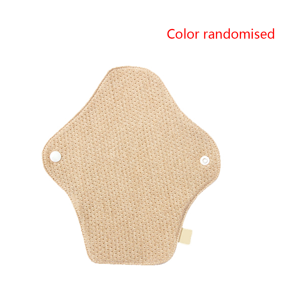 Color Random Women Reusable Cotton Menstrual Pads Washable Menstrual Cloth Waterproof Lady Period Pads
