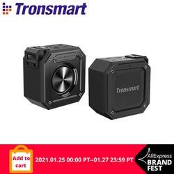 Tronsmart Element Groove (Force Mini) Bluetooth 5.0 Draagbare Speaker Met IPX7 Waterdicht, Superieure Bass, Stem Assistent