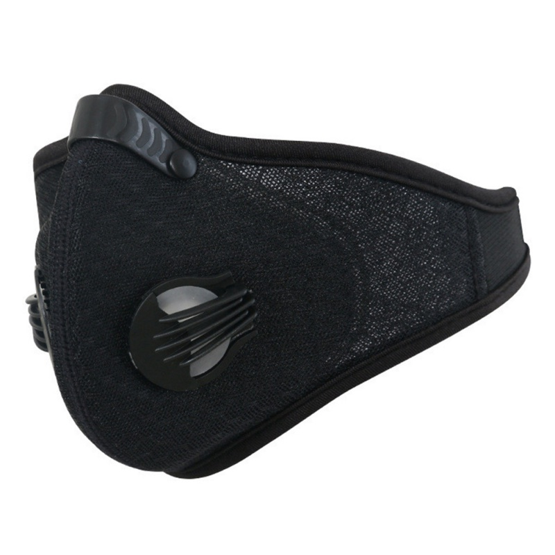 Outdoor Sport Cycling Face Mask With Filter Activated Carbon PM 2.5 Anti-Pollution Running Cycling Mouth Mask