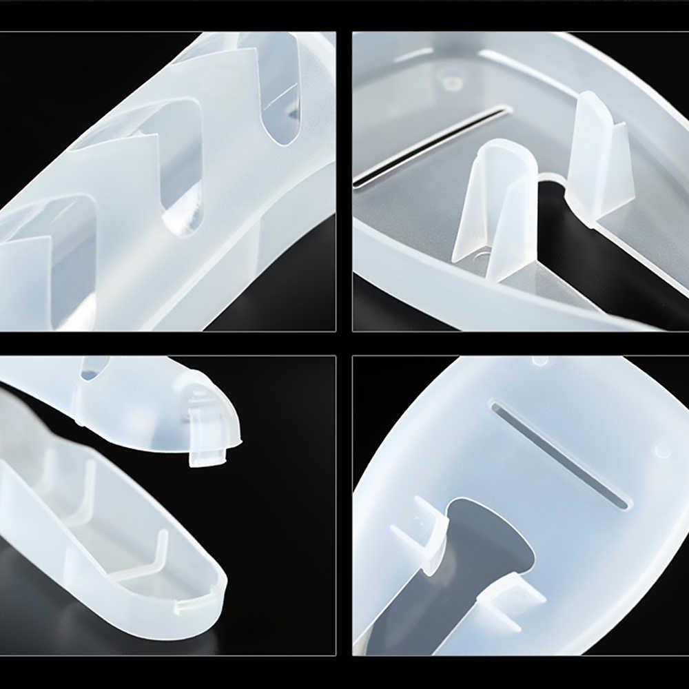 Viaggi Rasoio Caso Box Rasoio Lame Holder Valigia di Plastica Titolare Bagaglio Imbarco Portatile Imballaggio Organizer Accessori