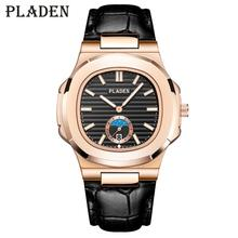 PLADEN Top Brand Luxury Wrist Watch Men