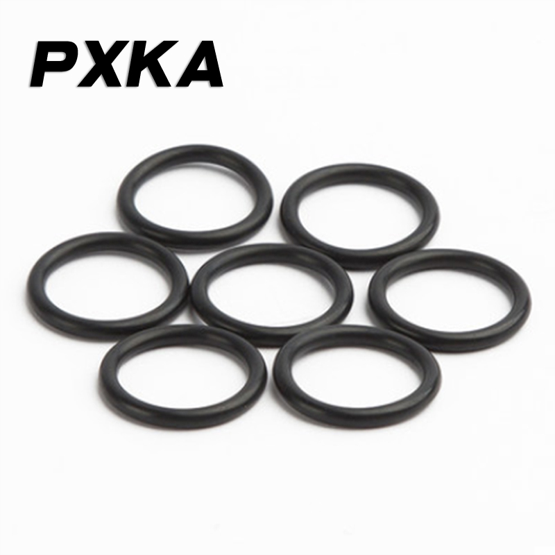 Free shipping 10PCS Nitrile rubber NR O-ring outer diameter 102/105/110/115/120/125/130/135/140/145/150/155/160/170/180*1.9 image