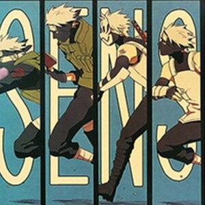 Винтажный мультяшный аниме постер Наруто бар для детской комнаты домашний декор комиксы Наруто ретро крафт-бумага живопись 50.5x35cm