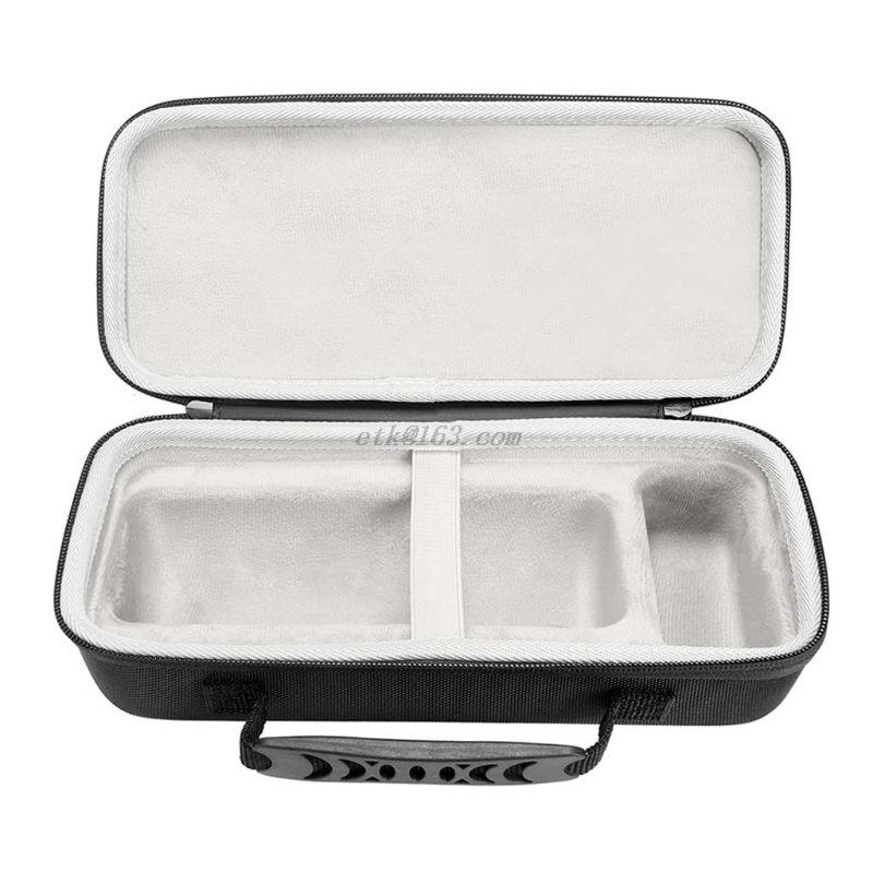 co2crea Hard Travel Case for Sony SRS-XB32 XB32 Extra Bass Portable Bluetooth Speaker Black Case + Inside Blue