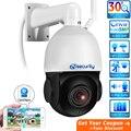 Наружная беспроводная купольная PTZ-камера видеонаблюдения Sony, 30-кратный оптический зум, Wi-Fi, 5 МП, H.265, скоростное двойное освещение, IP-камера ...