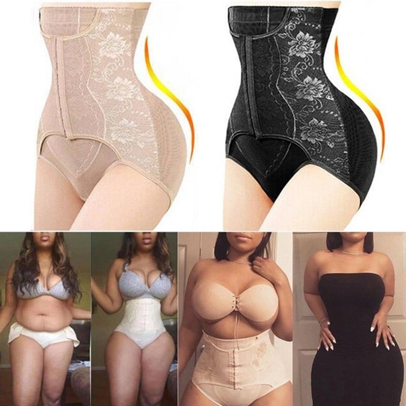 Shapewear Women Waist Trainer Body Shaper Tummy Control Panties Butt Lifter High Waist Shaper Girdle Slimming Belt Corset