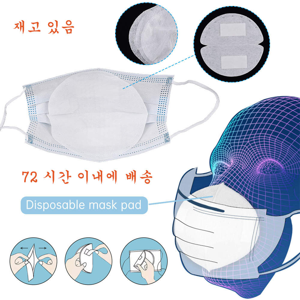 50Pcs Masks Gasket For KN95 KN90 N95 N90 FFP2 FFP3 Mask Replacement Pad 3 Layers PM2.5 Protective Disposable Mouth Masks Mat