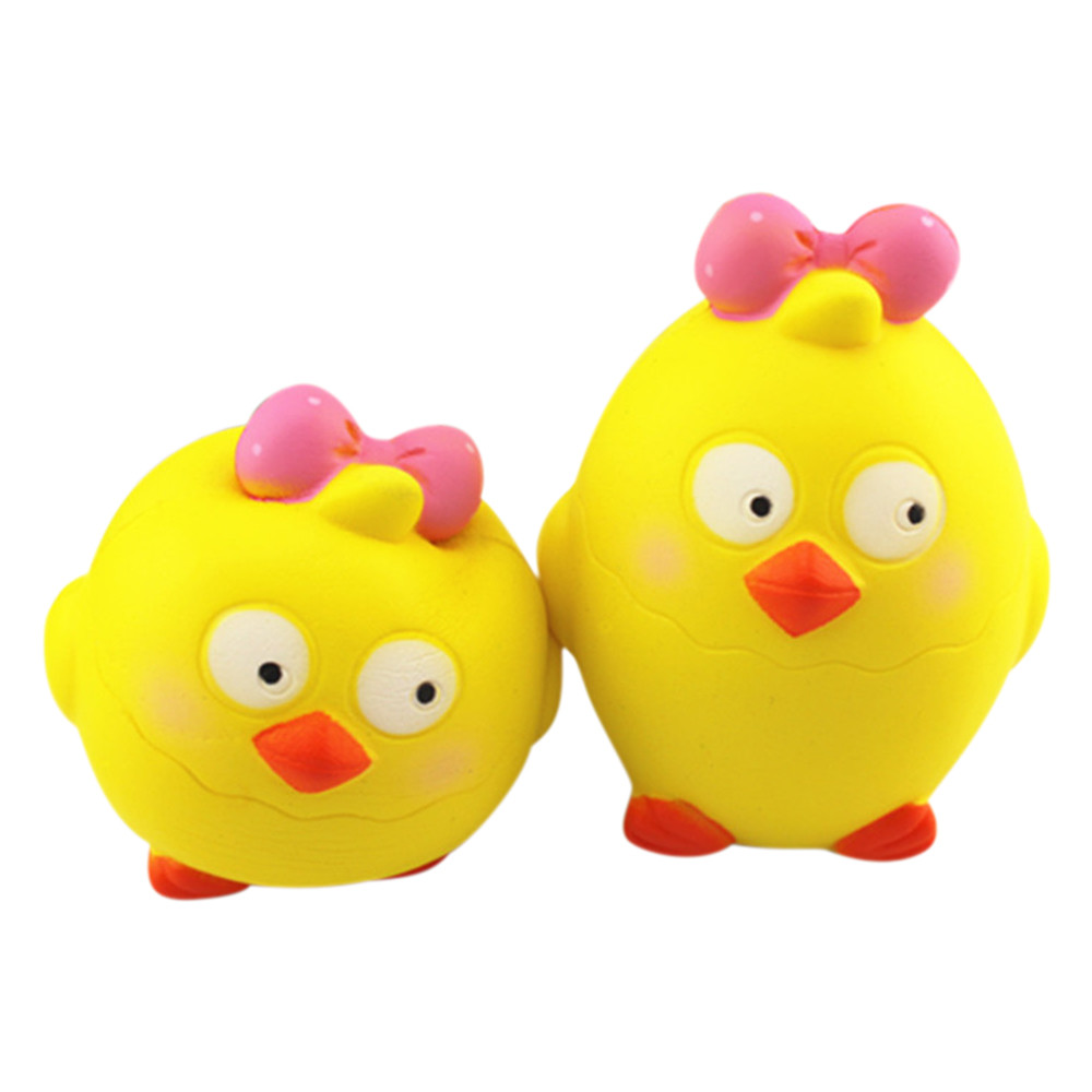 Simulation Bread Toy Cute Princess Chick Cartoon Chick Tricky Squishy Slow Rising Squeeze Collection Cure Toy L107
