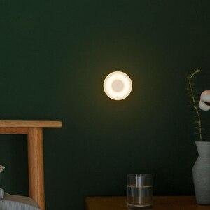 Image 3 - Original Xiaomi Mijia Führte Induktion Nacht Licht 2 Lampe Einstellbare Helligkeit Infrarot Smart Menschlichen körper sensor mit Magnetische basis