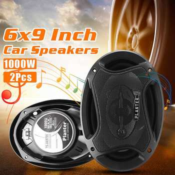 A Pair Of 6x9 inch Dual Tone 12V SuperTone Tweeter Door Coaxial Sprint Speaker Car Automatic Audio Distribution 8 Mounting Scre