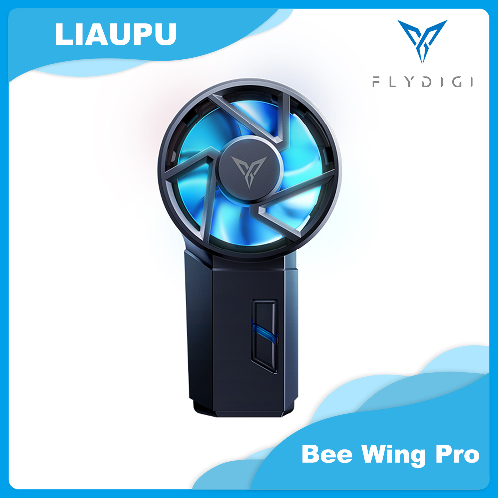 Flydigi Beewing PRO Mobile Phone Radiator Cooler Physical Semiconductor Cooling Portable For Apple Huawei Xiaomi Fan Youpin