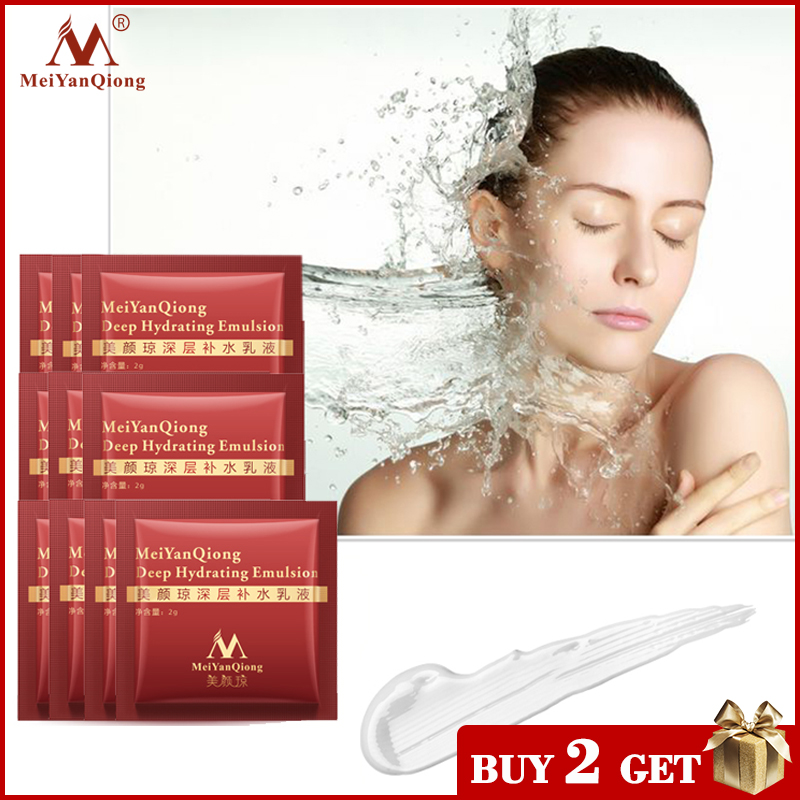 MeiYanQiong Deep Hydrating Emulsion Hyaluronic Acid Moisturizing Face Cream Skin Care Whitening Anti Winkles Lift Firming Beauty