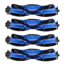 Brush Filters Side Brushes Accessories Compatible For Eufy Robovac Replacement Kit 11S, Includes 4 Rolling Brush.