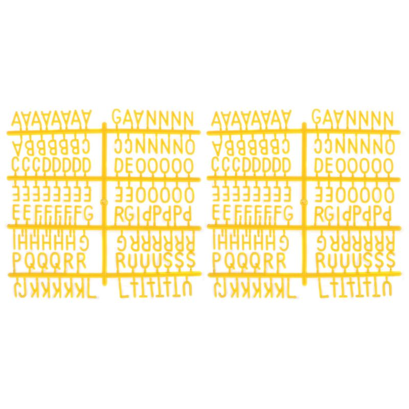Characters For Felt Letter Board 290 Piece Numbers For Changeable Letter Board