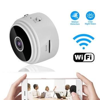 цена на Full 1080P HD Mini WIFI Camera Wireless Home Security Dvr P2P Night Vision Motion Detect Mini Camcorder Loop Video Recorder