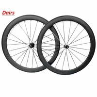 700c road carbon wheels 50x23mm width clincher powerway R36 hubs pillar 1420 sokes road bike wheels G3  20/24