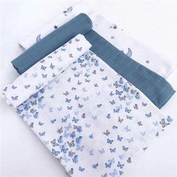 120cm*110cm Baby Swaddle Blanket Baby Blanket Swaddle Wrap Baby Blanket Muslin Ortu