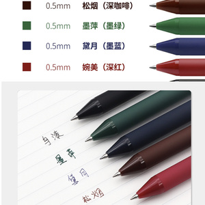 Image 5 - 5 יח\אריזה Youpin KACO 0.5mm סימן עט חתימת עט חלק דיו כתיבה עמיד חתימה 5 צבעים עבור תלמיד בית הספר/משרד עובד