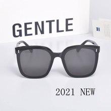 NEW Sunglasses Luxury-Package Square Oversized Star Vintage Women Fashion Lady UV400