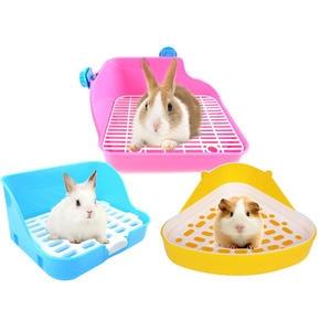 Litter-Trays Hamster Toilet Pets Rabbit-Corner Clean Indoor for Small Animal Pet-Cat