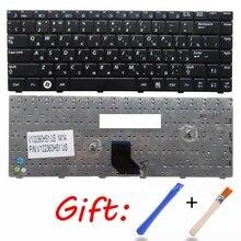 RU PER SAMSUNG R518 R520 R522 R550 R513 R515 tastiera del computer portatile Russo Nuovo Nero