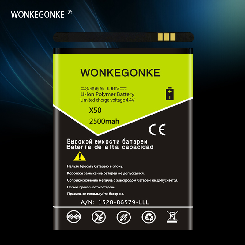 WONKEGONKE For Doogee <font><b>BAT18702000</b></font> battery X50 Battery High quality mobile phone battery with tracking number image