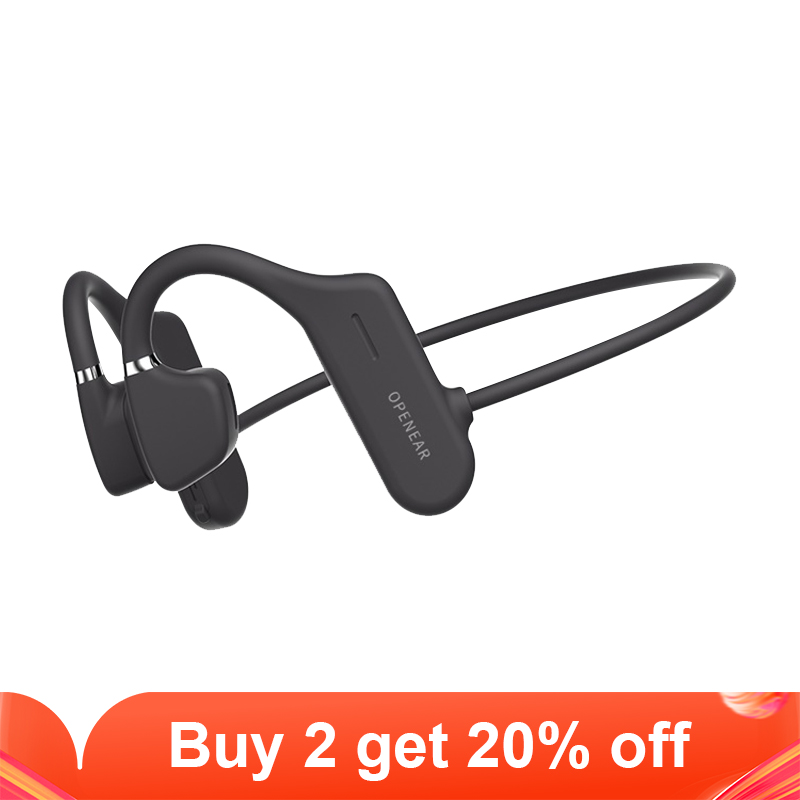 Wireless Headphone Bluetooth 5 0 Sport Open Ear Headset Hifi Bass Hands-free Earphones for iphone 11 xs xr 9 8 7 6 huawei Xiaomi