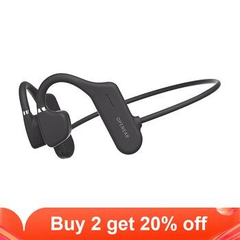 Wireless Headphone Bluetooth 5.0 Sport Open Ear Headset Hifi Bass Hands-free Earphones for iphone 11 xs xr 9 8 7 6 huawei Xiaomi