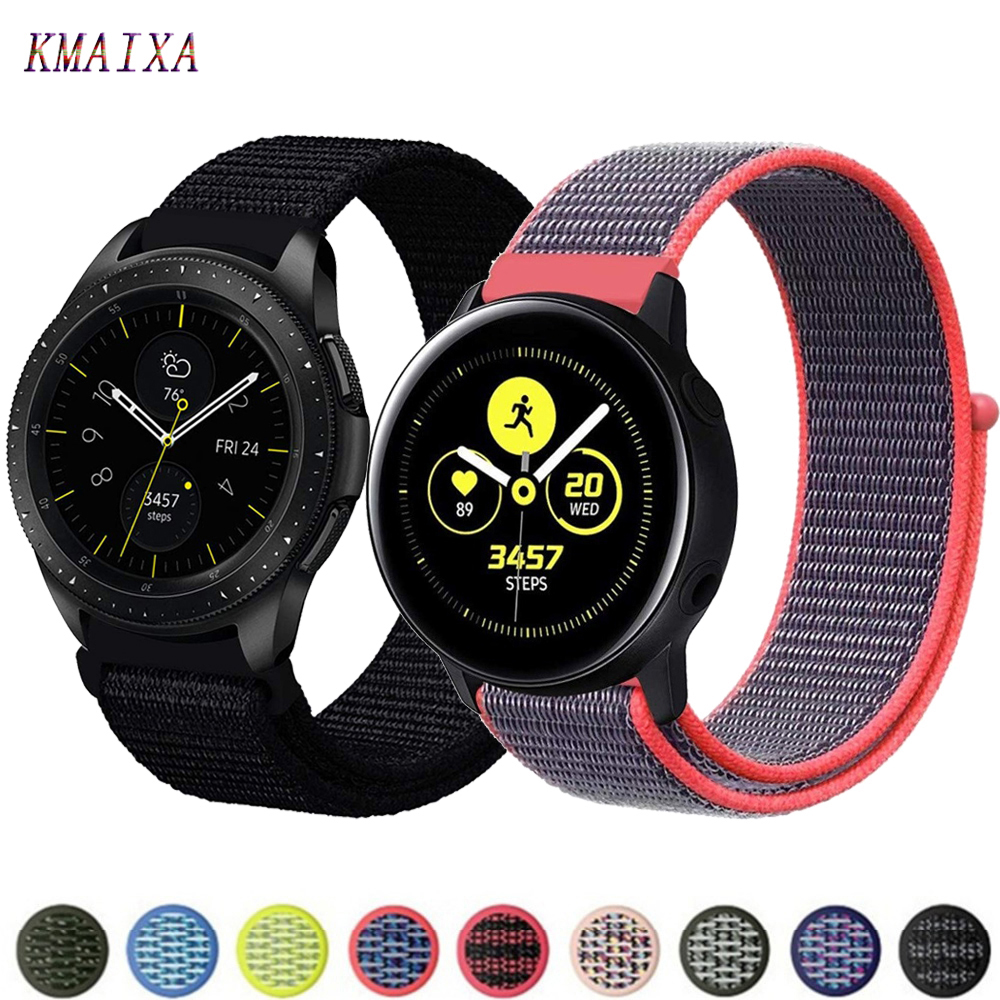 Gear S3 Frontier Strap For Samsung Galaxy Watch 46mm Active 2 42mm Amazfit Bip Strap 20mm 22mm Watch Band Huawei Watch Gt Strap