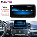 KANOR 9 inch 4+64G Display Android 10.0 for Mercedes-Benz M W166 Gl X166 Car Radio Screen with GPS Navigation Bluetooth