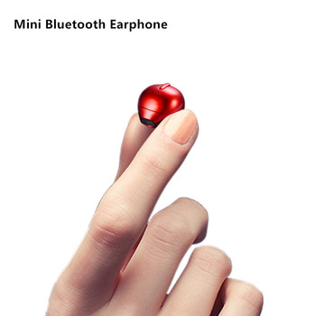 X20 Ultra Mini Wireless Single Earphone Hidden Small Bluetooth 4 Hours Music Play Button Control Earbud With Charge Case Earbuds