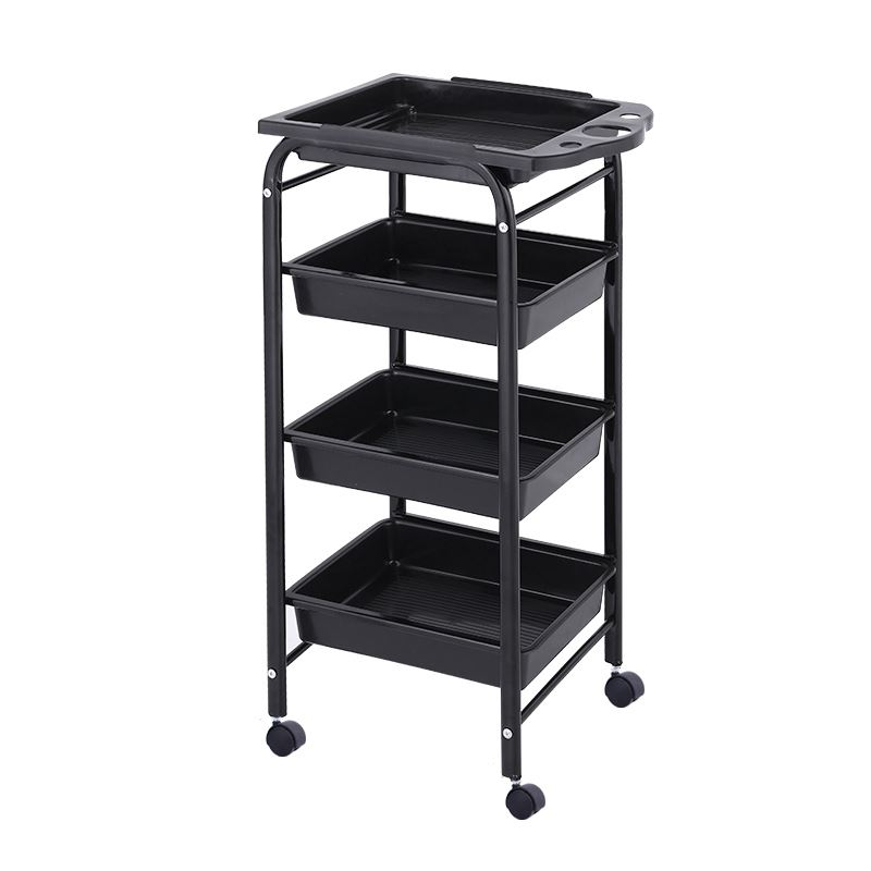 Hairdressing Cart Hair Salon Stroller Hairdressing Tool Car Beauty  Barber Shop   Bar Table