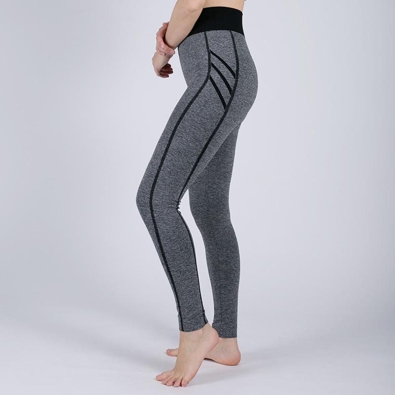 Women's Fashion Seamless Leggings Ladies Athleisure Sportswear Sweat Pants Trousers High Waist Solid Fitness Leggings Solid