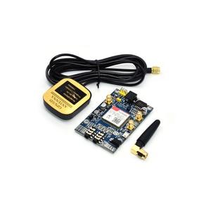 SIM808 модуль GSM GPRS GPS макетная плата IPX SMA с GPS антенной для Arduino Raspberry Pi Поддержка 2G 3G 4G SIM-карты