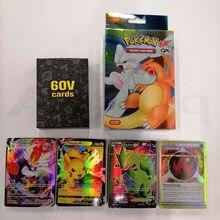 Juego de cartas de Pokemon 200 V MAX 300 GX para niños juguete de cartas de Pokemon brillante... versión en English Vmax TOMY