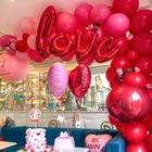 Red Love Foil Balloo...
