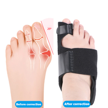 Soft Bunion Corrector Toes Separator Splint Correction Pedicure Orthotics Foot Care 2Pcs/set Hallux Valgus foot hallux valgus correct correction big toe bunion separator corrector orthotics toe separator bandage cover cocks bunion pads