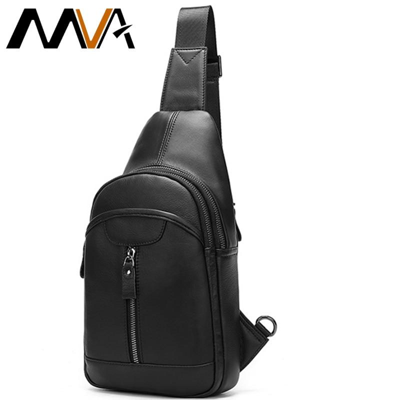 MVA sacs à bandoulière en cuir véritable pour hommes sacs à bandoulière sac à bandoulière en cuir pour hommes petit sac à bandoulière pour hommes 5007