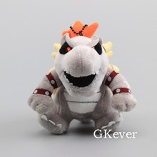 13 cm Boxed Mario Koopa Bowser Plush Toys Keychain High Quality Bowser Dragon Stuffed Animal Dolls Baby Kids Birthday Gift(China)