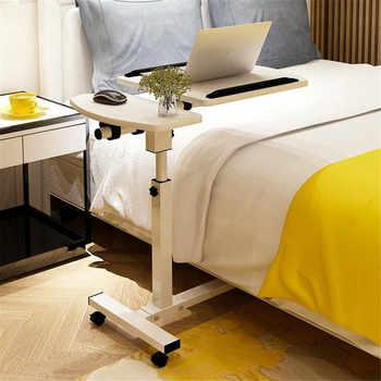 Adjustable Tilt Overbed Bedside Table with Wheels for Hospital and Home Use Foldable Portable Computer Desk - DISCOUNT ITEM  5 OFF Furniture