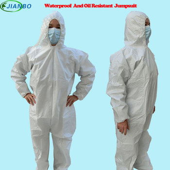 1422a dupont tyvek protective clothing coverall disposable antistatic non linting chemical work clothes anti dust splash Disposable Protective Clothing Waterproof Coverall Industrial Epidemic Spray Pesticide Chemical Protection Asbestos Work Jacke