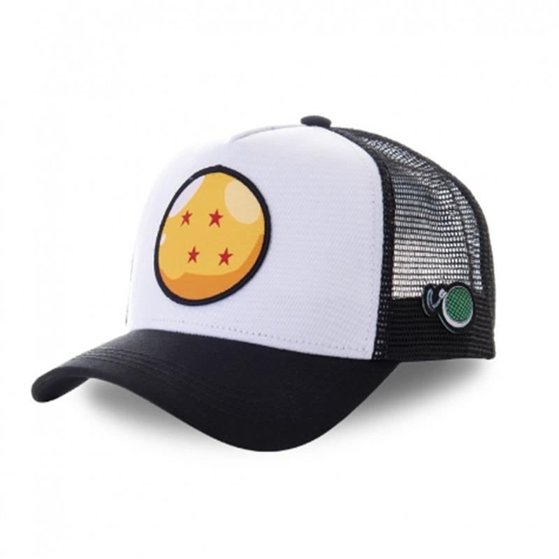 New Brand Anime Dragon Ball Snapback Cotton Baseball Cap Men Women Hip Hop Dad Mesh Hat Trucker Hat Dropshipping