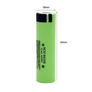 Image 4 - 100% Nieuwe Originele NCR18650B 3.7 V 3400Mah 18650 Lithium Oplaadbare Batterij Voor Zaklamp Batterijen