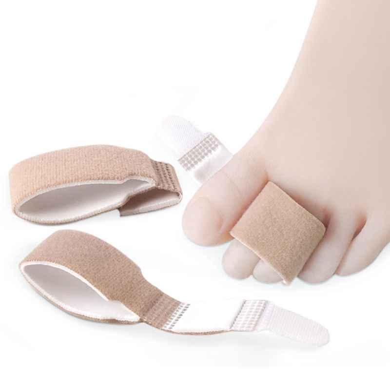 Unisex Toe Splints Hammer Straightener Bandage Wrap Finger Separator Big Toe Alignment Protector Hallux Valgus Corrector Sleeves
