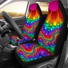Прочные чехлы на автомобильные сиденья instantarts 2 шт/компл