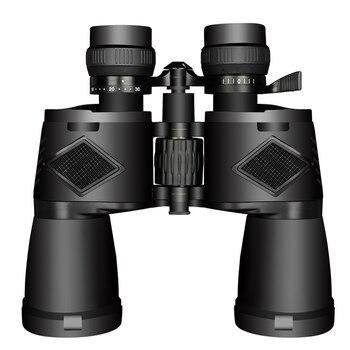 Borwolf 10-30X50 High Magnification HD Professional Zoom powerful Binoculars Light night vision for hunting telescope monocular 2