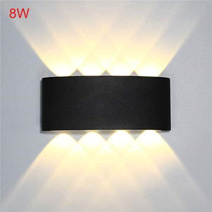 Indoor 2W 4W 6W 8W LED Wall Lamps AC100V/220V Aluminum Decorate Wall Sconce bedroom LED Wall LightIndoor and Outdoor Decoration(China)