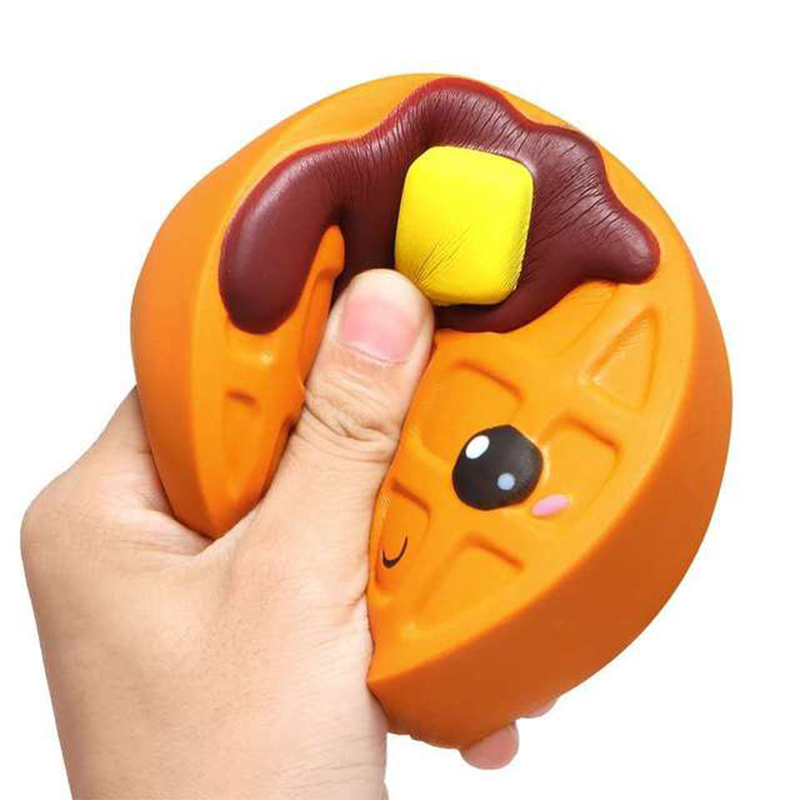 Fidget Toy Biscuits Jumbo Gift Squeeze Relieve Stress Slow Rising Funny Soft Cute Squishy img4